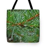 Spruce Drops Tote Bag