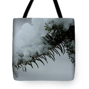 Spruce Needles And Ice Tote Bag
