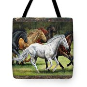 Spunky And The Gang Tote Bag