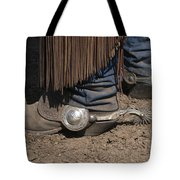 Spurs N' Rowels Tote Bag by Sandra Bronstein