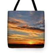Spwinter Sunset Tote Bag