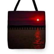 Squalicum Sunset Tote Bag