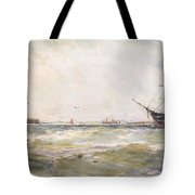 Squally Weather, Portsmouth Tote Bag