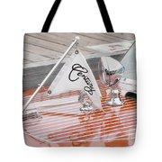 Square Bow Resorter Tote Bag