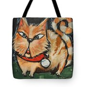Square Cat Two Tote Bag