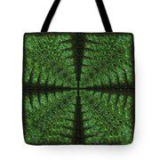 Square Crop Circles Four Tote Bag
