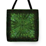 Square Crop Circles Three Tote Bag