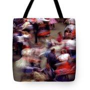 Square Dance Love Tote Bag