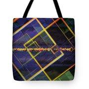 Square Fractals Tote Bag