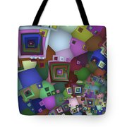 Square Man Tote Bag