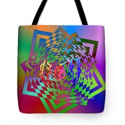 Square Mandala Tote Bag