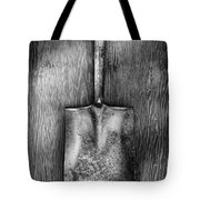 Square Point Shovel Down 3 Tote Bag