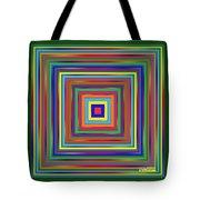 Square Shadings Tote Bag