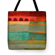 Square Stripes Tote Bag