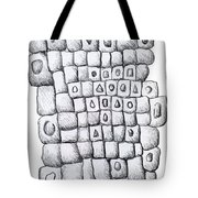 Square Wall Tote Bag