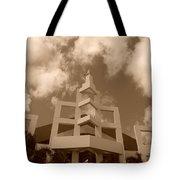 Squares In The Sky Tote Bag