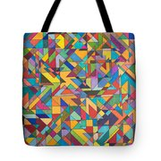 Squark And Lepton Fields Tote Bag