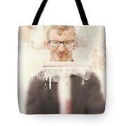 Squeaky Clean Window Washer Tote Bag