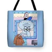Squidward Tote Bag