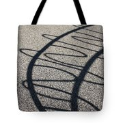 Squiggle Shadow Tote Bag