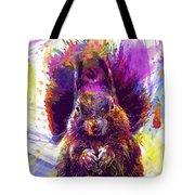 Squirrel Animals Possierlich Nager  Tote Bag