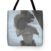 Squirrel Chilling Out Tote Bag