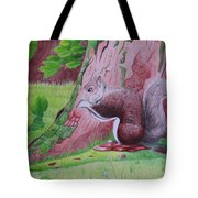 Squirrel Hangout Tote Bag