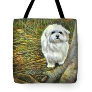 Squirrel In Its Mind Tote Bag
