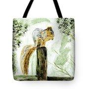 Squirrel Painting Tote Bag
