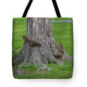 Squirrel Tag Tote Bag