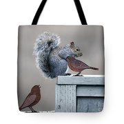 Squirrely Tote Bag
