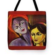 Sreekrishna With Radha Tote Bag