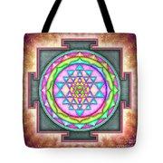 Sri Yantra - Artwork 7.3 Tote Bag
