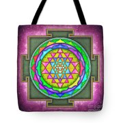 Sri Yantra - Artwork 7.5 Tote Bag