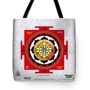 Sri Yantra Magic Tote Bag