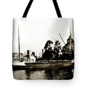 Steam Schooner Helene At San Padero Tote Bag