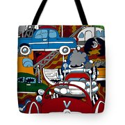 Ss Studebaker Tote Bag by Rojax Art