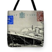 Ss United States - Post Card Tote Bag