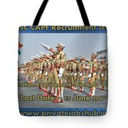 Ssc Capf Recruitment Tote Bag