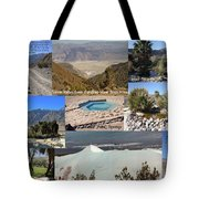 Saline Valley Collage Tote Bag