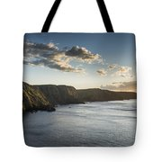St Abbs Sunset Tote Bag