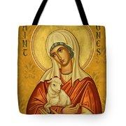 St. Agnes - Jcagn Tote Bag