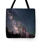 St. Aloysius Church Ruin Under The Stars Tote Bag