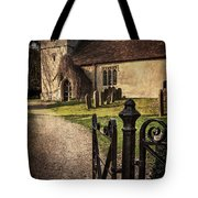 St Andrews At Chaddleworth Berkshire Tote Bag