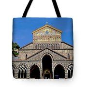 St Andrews Cathedral In Amalfi Tote Bag