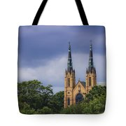 St Andrews Catholic Church Roanoke Virginia Tote Bag