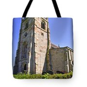St Andrew's Church At Cubley In Derbyshire Tote Bag
