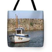 St Andrews Harbour Tote Bag