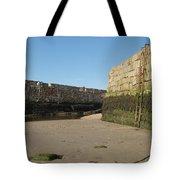 St Andrews Pier At Low Tide Tote Bag