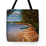 St Andrews State Park Panama City Florida Tote Bag